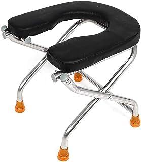 TUHFG Shower Stool Bath Seats Shower Stool Shower Chair Foldable Non-Slip Bath Chair Stainless Steel Shower Stool Pregnant...