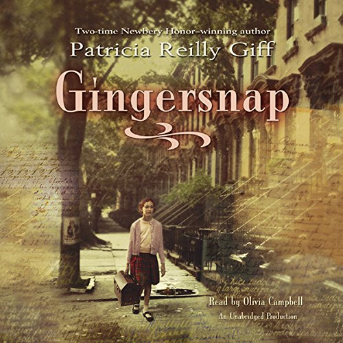 Gingersnap audiobook cover art