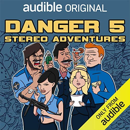 Danger 5: Stereo Adventures cover art