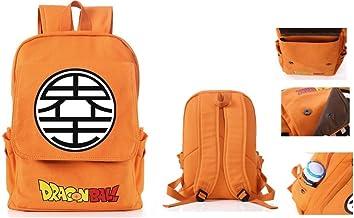 Dragon Ball Z Goku Symbol Large School Backpack Canvas Dragonball Bag