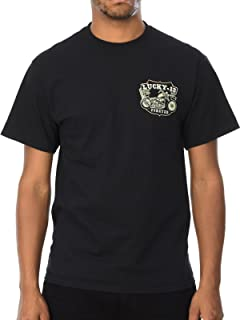 Lucky 13 Black Knuckles T-Shirt (S , Black)