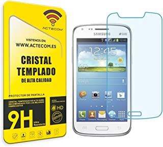 actecom® Protector Pantalla Cristal Templado Compatible para Samsung Galaxy Core GT-i8262