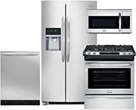 Frigidaire Gallery 4-Piece Smudge-Proof Stainless Steel Package, FGHC2331PF 36