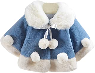 Avitalk Baby Boy's Girl's Winter Cape Coat Thick Jacket Warm Outerwears 6 Months-3 Years