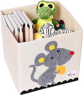 YZNlife Kinder Aufbewahrungsbox ohne Deckel,niedliche Spielzeugbox,praktische Aufbewahrungsbox f/ür jedes Kinderzimmer mit verschiedenen Muster,Korb zur Aufbewahrung von Kinder Spielsachen
