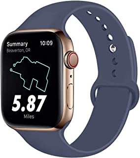 oil slick apple watch band