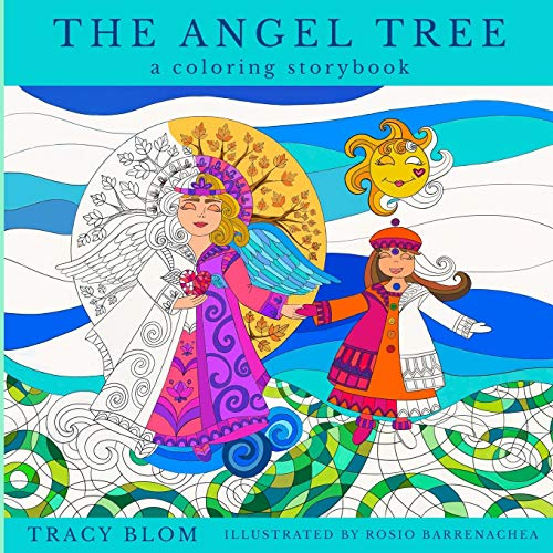 The Angel Tree: A Coloring Storybook