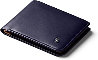 Bellroy Leather Hide & Seek Wallet Navy - RFID