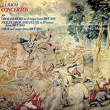 Bach, J.S.: Concertos for Oboe