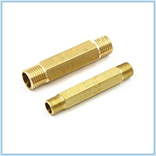 no logo WSF-Adapters 1pc 8mm 10mm 1//4 3//8 OD Hose Tube 1//4 BSP 1//2BSP Male Thread Straight 2 Way Metal Ball Valve Ro Water Fitting Pneumatic Air Oil Size : 8mm