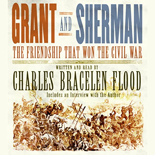 Grant and Sherman audiobook cover art