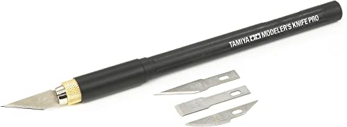 Tamiya - 74098 - Accessoire pour Maquette - Couteau Modéliste Pro