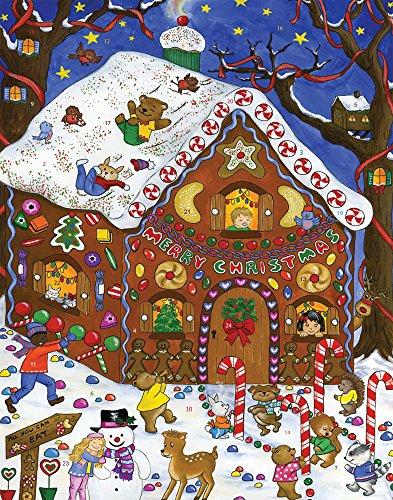 Gingerbread Fun Advent Calendar (Countdown to Christmas)