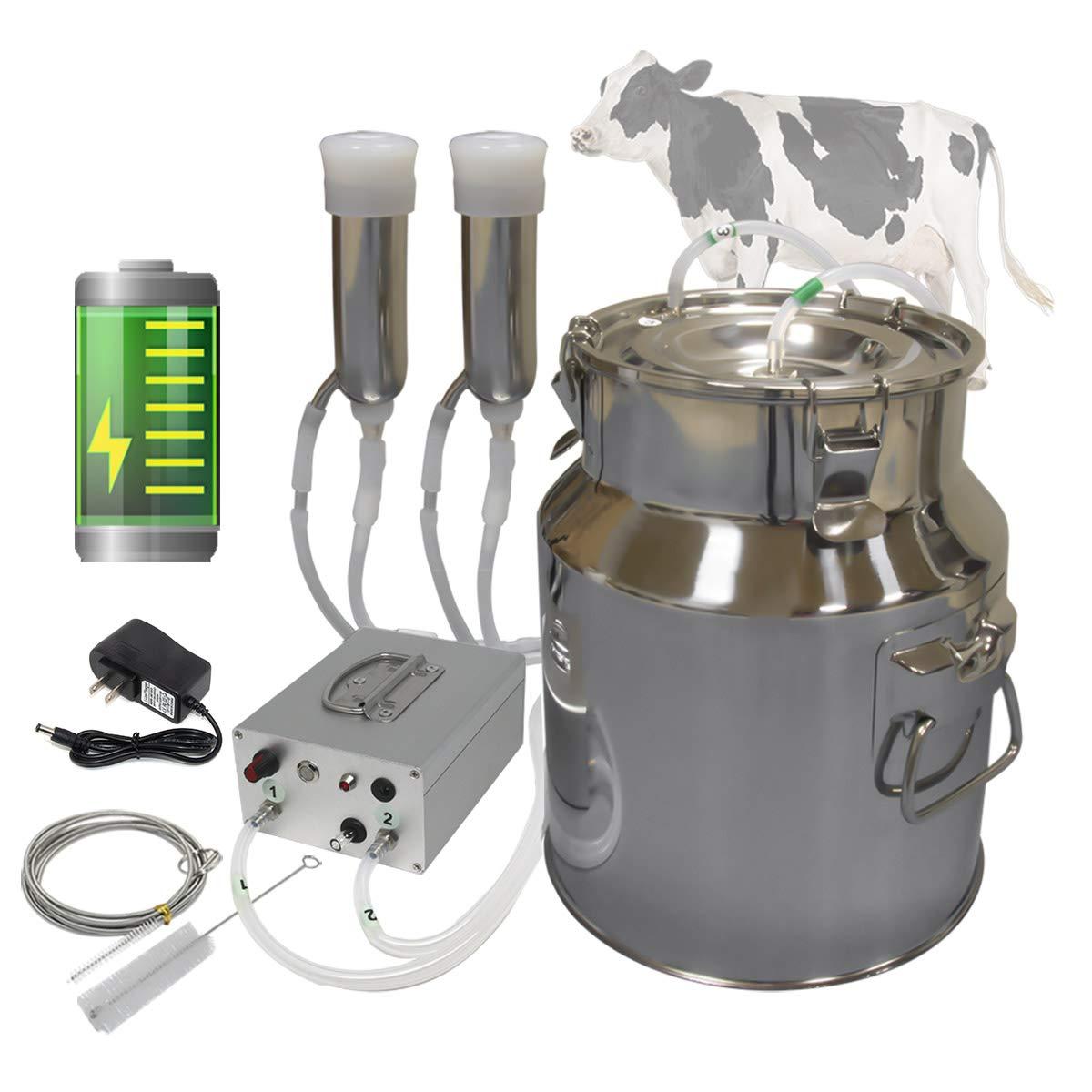 Hantop 14L Cow Ranking TOP19 Super sale Milking Machine Po Rechargeable Portable Battery