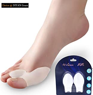Silicone Gel Bunion Big Toe Spreader Hallux Valgus Corrector Straightener Orthosis Bunion Adjuster Feet Care Pedicure