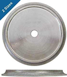 Bullnose Tile Blades for Wet Saw, Diamond Profile Wheels (2 Sizes)