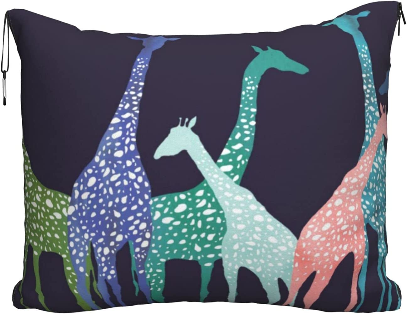 Al sold out. Mescchskcolorful Giraffe Fans Lovers Print New Orleans Mall Blanket Pillow Travel