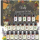 VSADEY Aceite Esenciales Aromaterapia 20 X 10ml Aceites Set Aceites Esenciales para Humidificador y Difusor Aroma,SPA,Masajes,Relajarse,Set Essential Oils 100% Puro y Naturales