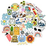 Cool Stickers Office Decals 35 Pack for iPad MacBook Phone Laptop Skateboard Water Bottles Car Teens Girls Stickers