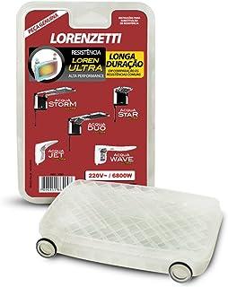 Resistência Acqua Ultra 220V 6800W 3065A, Lorenzetti, 7589116, Metal, Pequeno
