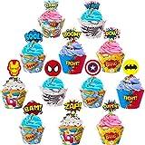 Superhero Cupcake Toppers Superhero Cupcake...