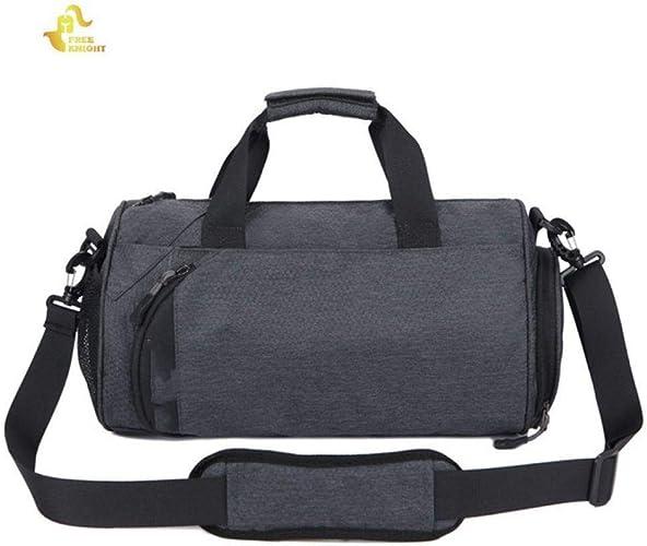 JKLSNMA Chaussures de randonnée 16L Men Gym Fitness Bag Yoga Training Shoulder Bag for chaussures Storage Outdoor Sport Waterproof femmes Travel Handbag