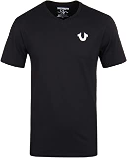 True Religion Men's Classic Horseshoe Logo V Neck Tee