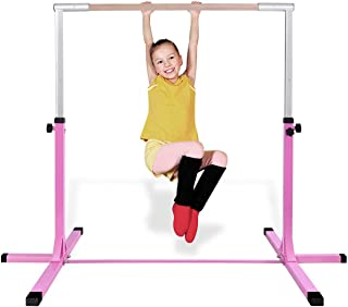 Costzon Gymnastic Training Bar, Junior Horizontal Kip Bar, 36