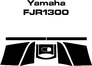 Yamaha FJR1300 Top Case Decals (Black Reflective)