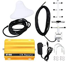 Signal Booster, KKmoon AT980 Mobile Phone Signal Booster Cell Phone 2G GSM900MHz Signal Repeater for Home Amplifier Complete Set