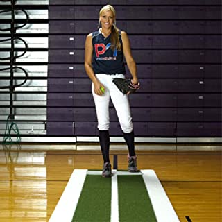 fastpitch softball indoor pitching mats