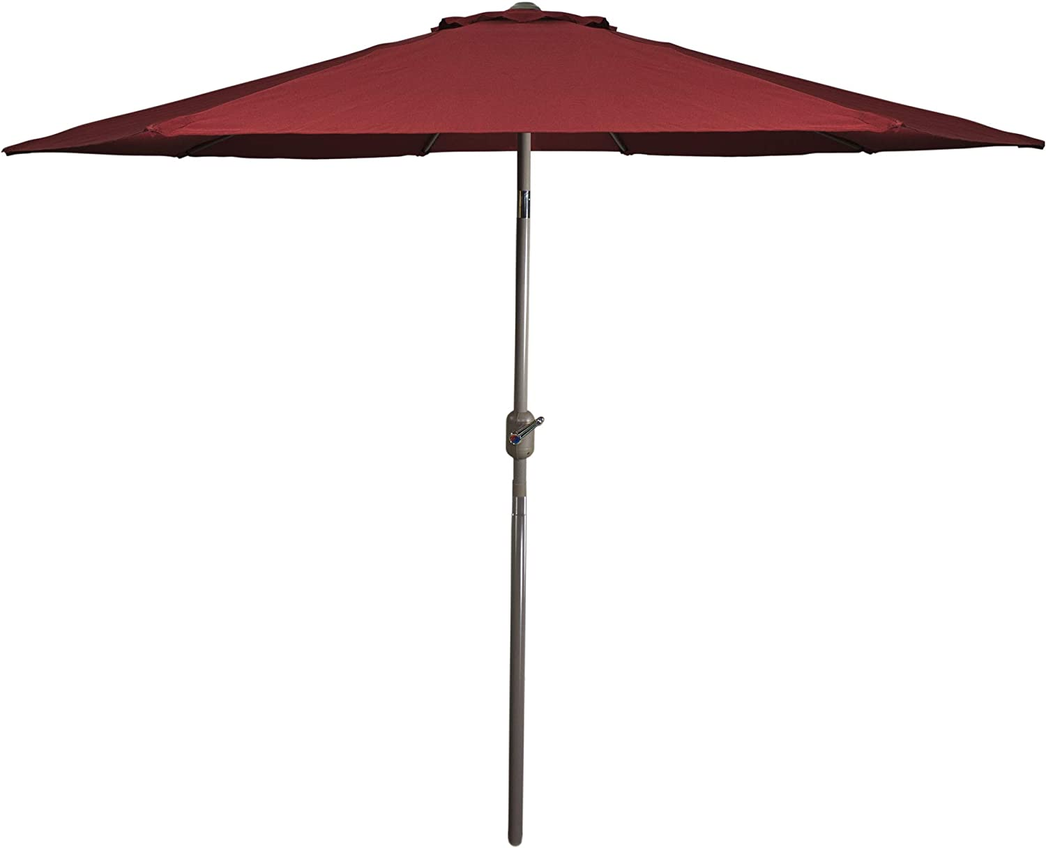 Northlight safety 9ft Outdoor Attention brand Patio Market and Hand with Umbrella Crank