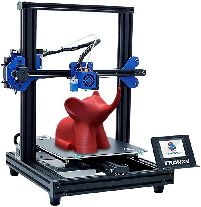 Stampante 3d resina tronxy xy-2 pro titan extruder,stampante 3d 255 x 255 mm x 260 mm