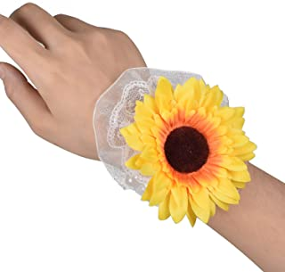 Best sunflower and rose corsage Reviews