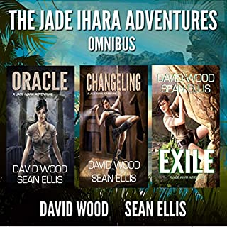 The Jade Ihara Adventures: Omnibus Edition                   By:                                                                                                                                 David Wood,                                                                                        Sean Ellis                               Narrated by:                                                                                                                                 Jeffrey Kafer                      Length: 25 hrs and 40 mins     46 ratings     Overall 4.2