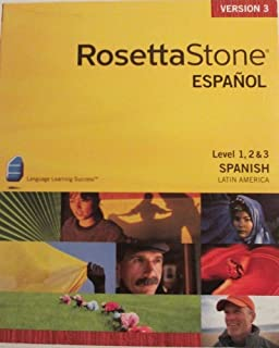 Rosetta Stone Espanol Level 1 & 2 Spanish Latin America (Version 3)