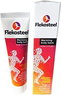 3 Tubes HENDEL'S GARDEN Flekosteel warming body balm