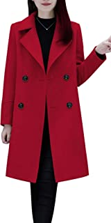 womens long peacoat jacket