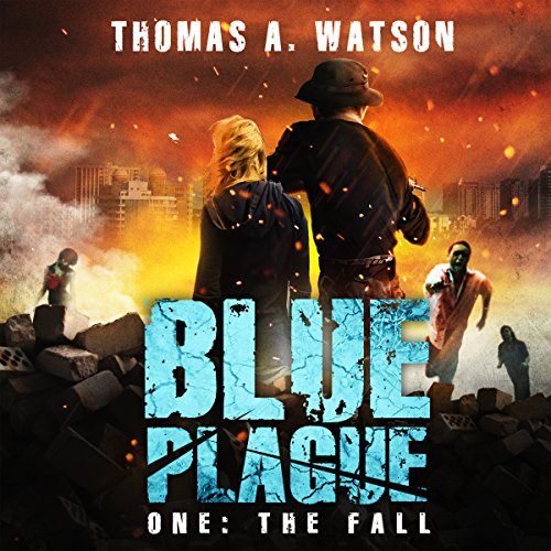 Blue Plague: The Fall audiobook cover art