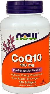 NOW Foods Coq10 100mg 150 Softgels