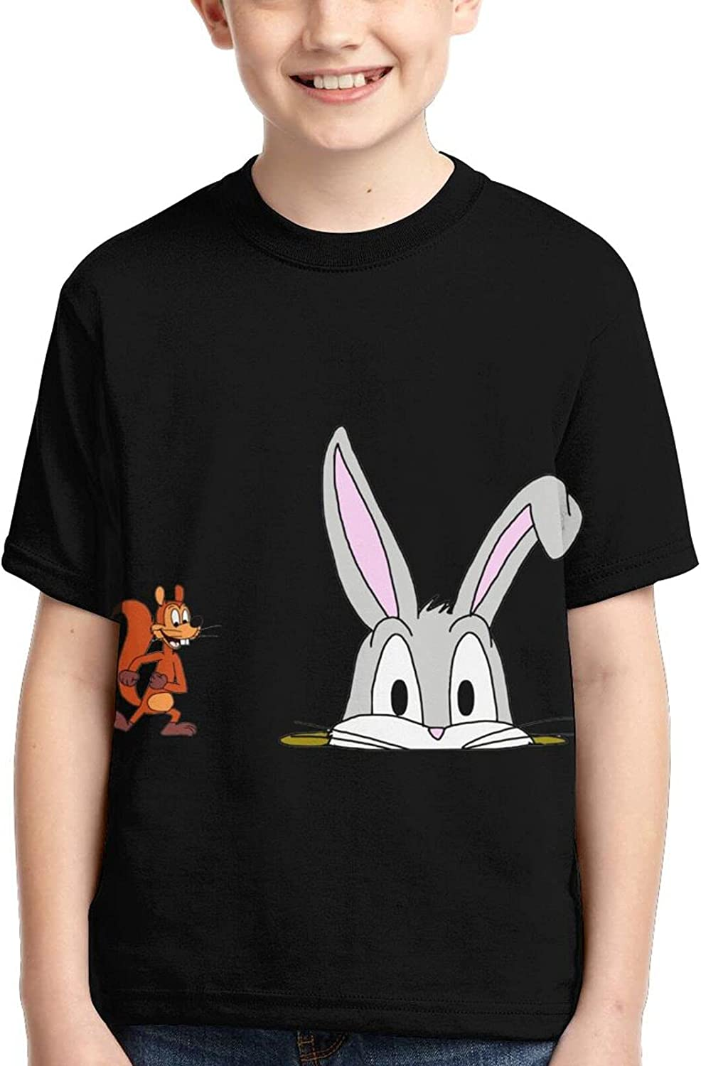 FANPANHE Bugs Bunny Fashion Cool T-Shirts Fort Worth Mall Super beauty product restock quality top! Boy Trend