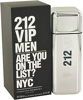 Carolina Herrera 212 Vip 3.4 oz Eau De Toilette Spray for Men