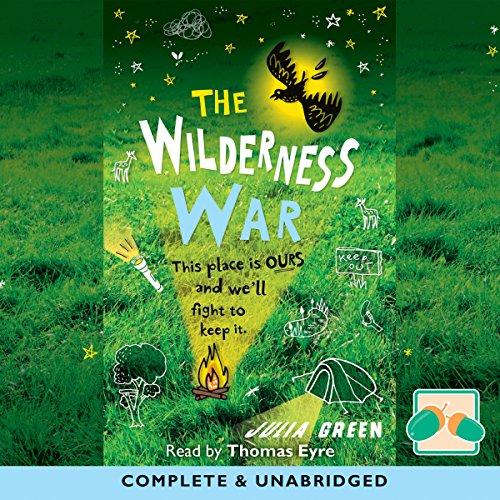 The Wilderness War audiobook cover art