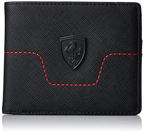 Puma - Ferrari ls wallet m black - Portefeuille - Noir - Taille Unique