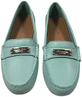 b49a09ae937 Coach Women s Fredrica Pebble Grain Leather Loafers Flats