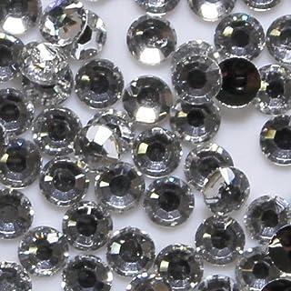 高品質 アクリルストーン ラインストーン ラウンドフラット 約1000粒入り 3mm ダイヤモンド