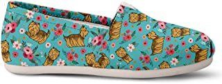 Yorkshire Terrier Flower Casual Shoes