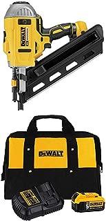 DEWALT 20V MAX Brushless Nailer with 5Ah Battery & Charger Kit (DCN692B & DCB205CK)