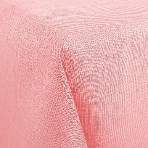 Tischdecke Wien, rosa, 130x160 cm, Fleckschutz, Tischdecke für das ganze Jahr