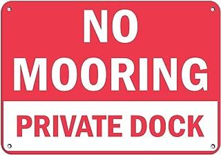 custom dock signs